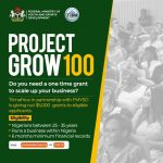 Project Grow 100 by Federal Government of Nigeria ($5000 Grant) Register Now