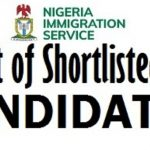 NIS Shortlist 2020 - Download Nigeria Immigration Service (NIS) List of Shortlisted Candidates for Exam