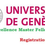 University of Geneva Excellence Master Fellowships