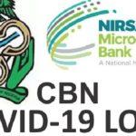 NMFB Loan Registration Form Portal 2021 CBN COVID-19 Loan Application Form