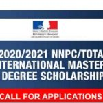 NNPC-TOTAL International Master's Degree Scholarship Application Form Portal