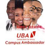 UBA Campus Ambassador Programme Application Form Portal