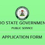 Edo State Internal Revenue Service (EIRS) Recruitment Application Form Portal