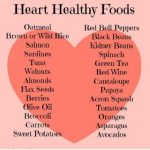 heart healthy foods list Food that Prevent Heart Attack